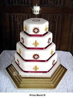 medieval cake designs | Design Wedding Cakes and Toppers: Medieval Wedding Cake