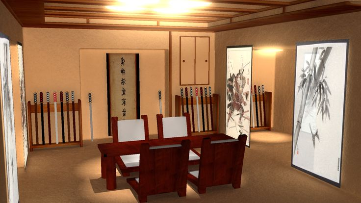 3D Internal home, architectural rendering.