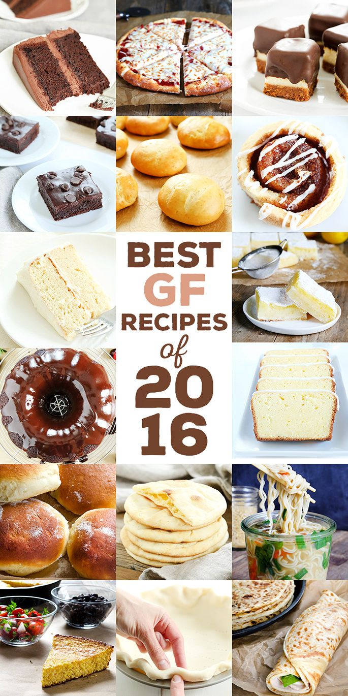 The very best gluten free recipes of 2016, from number 16 all the way through number 1. For the 7th year since I began writing this blog in 2009, we're counting down the most popular recipes here on the blog. These are your favorites, so get ready!