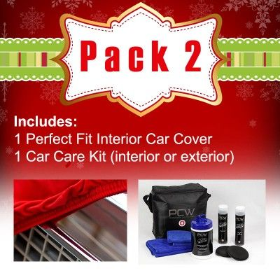 Car Care Cover Gift Set - Custom made Car Covers