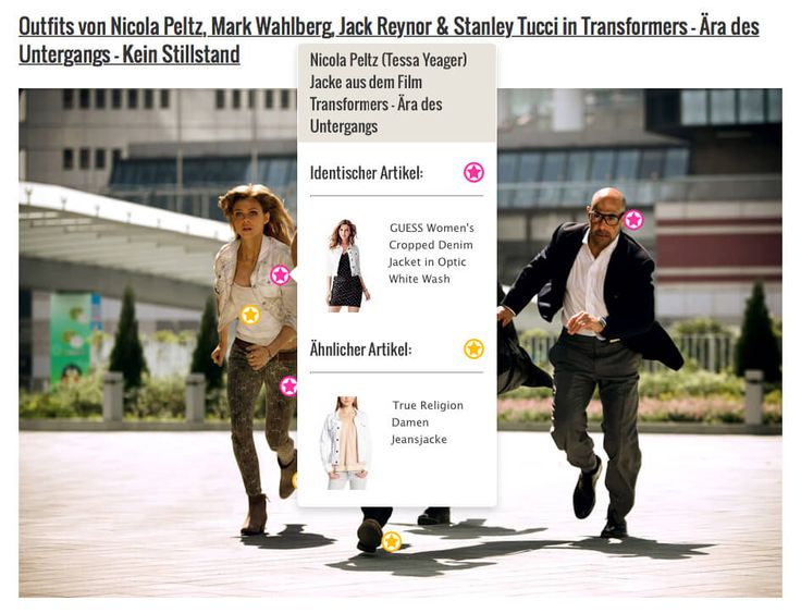 Nicola Peltz (Tessa Yeager) Guess-Jacke aus dem Film Transformers – Ära des Untergangs