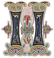 CELTIC Medieval Pattern Book Of Kells Counted Cross