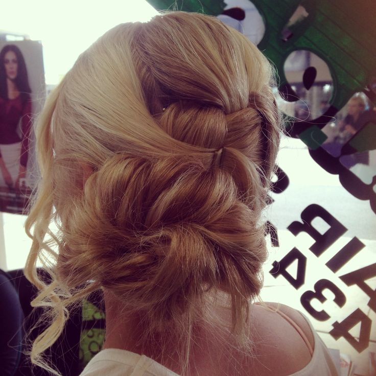 Formal hairstyle created by Leah @ BEL Hair & Make-Up