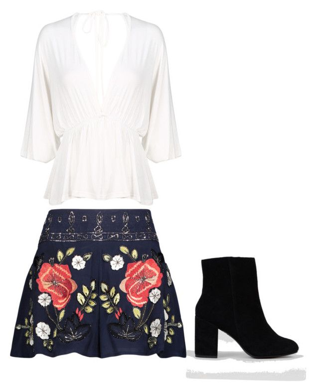 """""""Untitled #4"""" by samialex on Polyvore featuring Haute Hippie and New Look"""