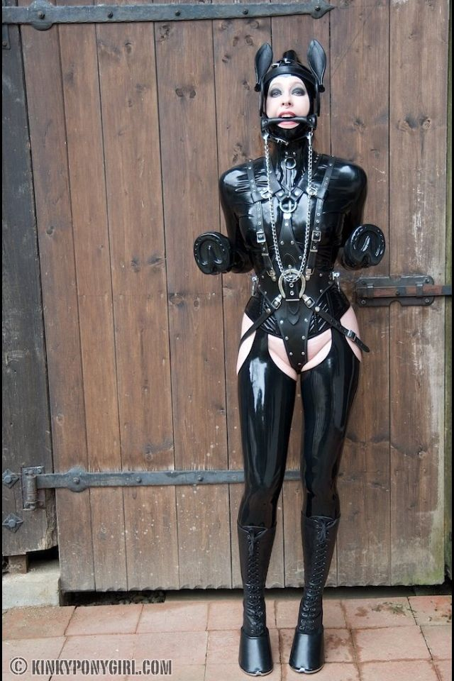Catinheels4 Fetiman Top Quality Fetish Rubber Bondage That Looks Like Fun And Something I Have Not Tried Yet But Will Meow Anna R Ponygirl Pinte
