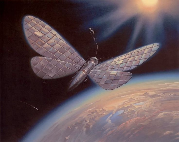 Vladimir Kush - Winged Satellite
