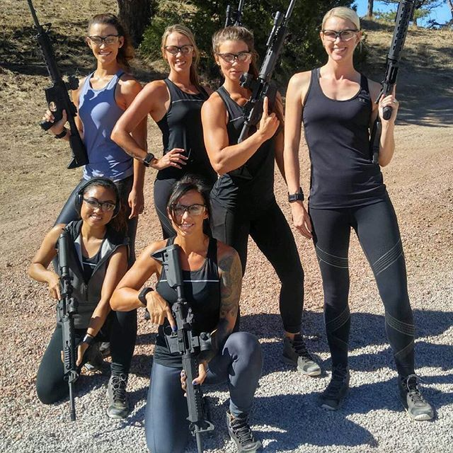 A bond created between the love of firearms and the misery of running and pushing our bodies to the limit 3 weeks straight. #weweremiserabletogether @springfieldarmoryinc #thesaint #defendyourlegacy Ladies! Get your booties to the range. Take advantage of the 2nd amendment we are so fortunate to have! #comeandtakeit