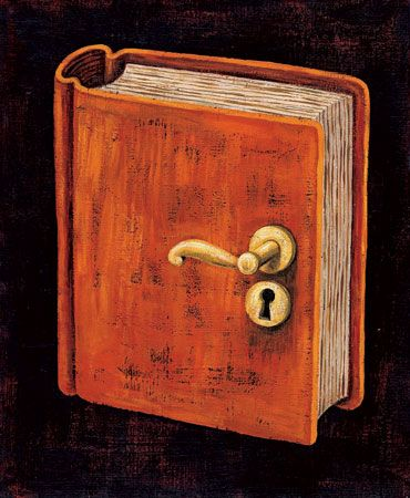 The book opens the door... / El libro nos abre la puerta a…(ilustración de André Letria) Love it.