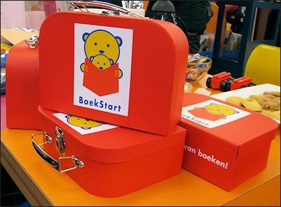 """Project """"Boekstart"""" voor de allerkleinsten met gratis Boekstartkoffertje voor alle nieuwe leden!"""