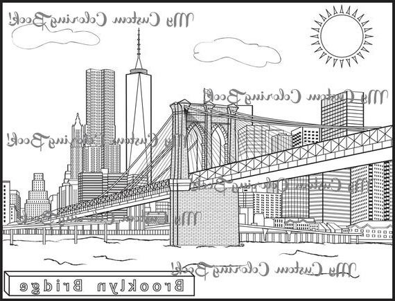 20 Beautiful Photos Of Bridge Coloring Page