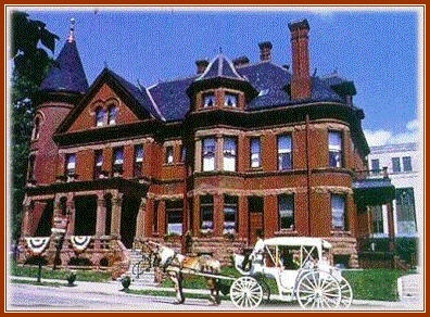 The Redstone Inn, Dubuque, IA. Stay in the floor Elizabeth Sullivan Bridal  Suite.