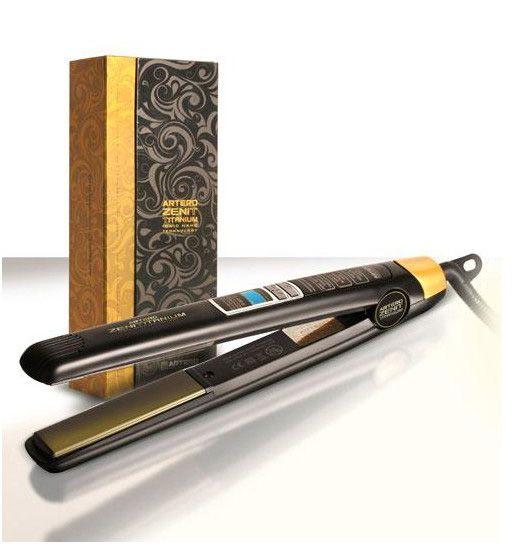 Sorteo de una plancha profesional para el cabello con placas de titanio de Artero