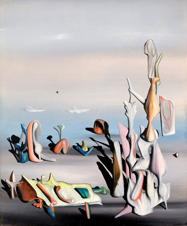 Yves Tanguy -These surreal landscapeswill be the topic of future lessons.
