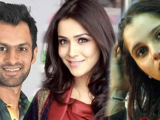 Shoaib Malik with Sania Mirza But Now with Humaima Malik photo gone viral