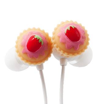 Koptelefoon met #cupcakes