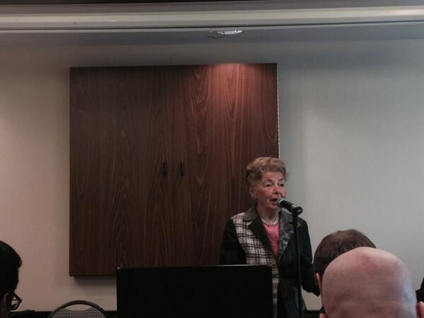 We're hearing from Phyllis Schlafly, President of Eagle Forum: Events 2014, Phyllis Schlafly, U.S. Presidents, Eagle Forum