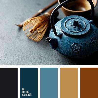 бронзовый, дымчато-синий, зеленовато-синий, лазурно-серый, насыщенный синий, оттенки рыже-коричневого, подбор цвета для дизайнера, почти черный цвет, синий цвет индиго, цвет берлинской лазури, цвет глины, цвет дерева, цвет имбирного печенья, цвет