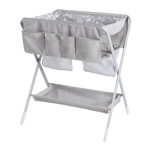 SPOLING Changing table IKEA Foldable; easy to stow away when not in use.