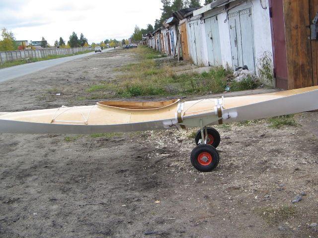 Вело-трейлер для перевозки каяка - Техотдел - Морской каяк