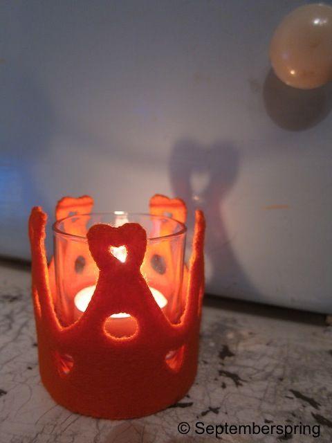 droaties en proaties: Gratis patroon Kroon-lichtje