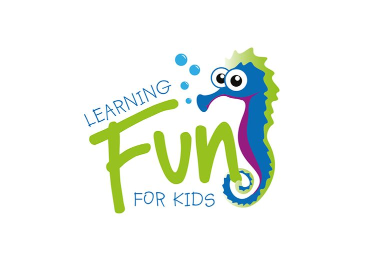 Logo design for a new company aiming to produce personalised children's learning charts. Aim was to create something fun for a younger audience. The seahorse will then become a key character in books and learning tools.