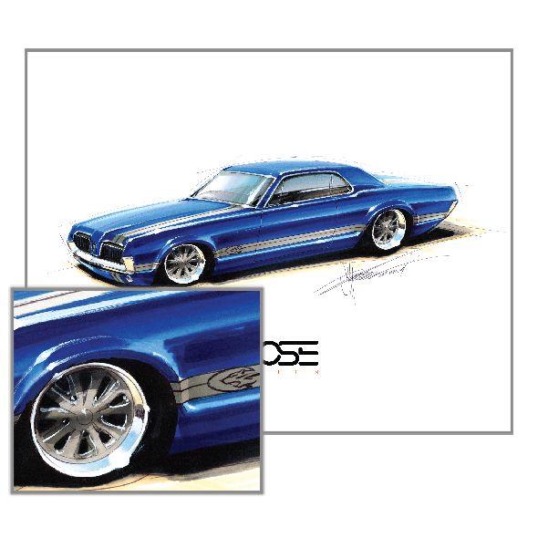 Chip Foose, Foose projeto, looks like Mercury Cougar