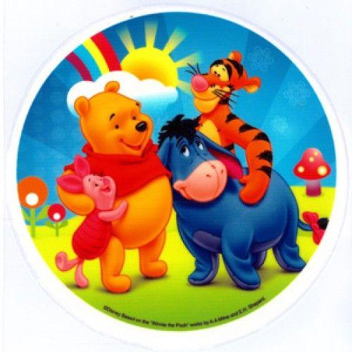 pooh tigger piglet & eeyore cake