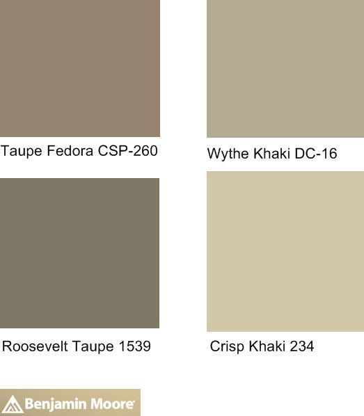 1000 ideas about benjamin moore taupe on pinterest for Color charts for painting walls