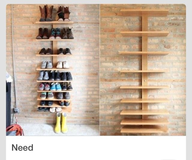 Amazing Shoe Shelves