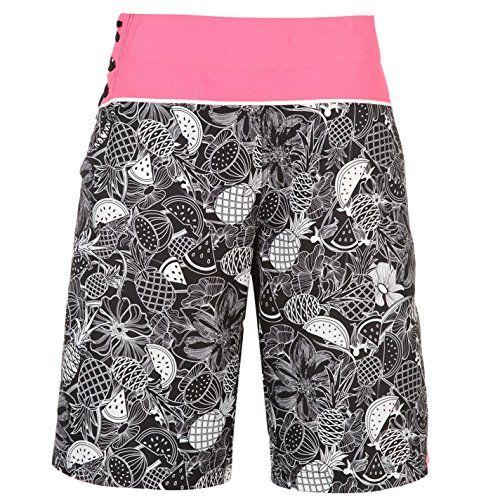 #Hot #Tuna #Bahamas #Damen #Badehose #Schwimm #Kurze #Hose #Board #Shorts #Schwimmshorts #Schwarz #14 #(L) Hot Tuna Bahamas Damen Badehose Schwimm Kurze Hose Board Shorts Schwimmshorts Schwarz 14 (L), , Damen Boardshorts, Tunnelzug, Bahnen Design, Farblich abgestimmte Naehte, All Over Muster auf den Hosenbeinen