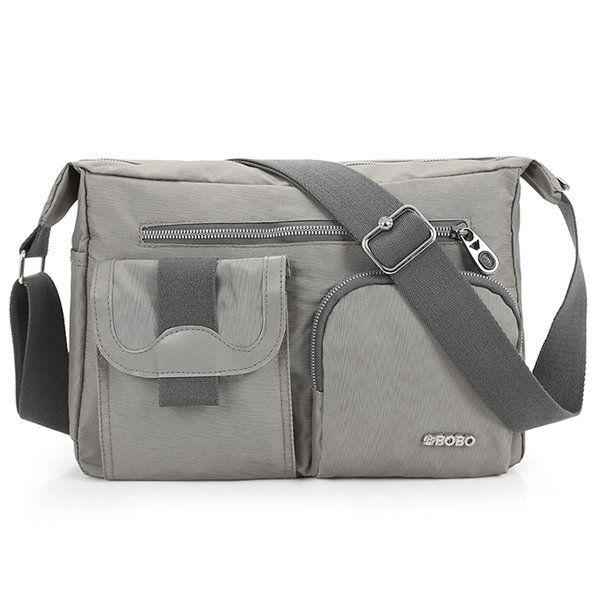 Men Women Multi-pocket Casual Shoulder Bags Crossbody Bags is worth buying - NewChic