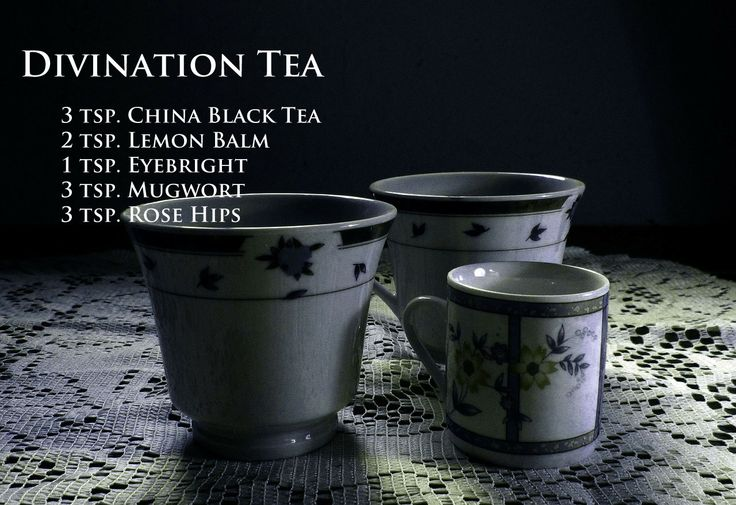 ∆ Tea...Divination Tea... Witch's Brew Tea Recipes - Pinned by The Mystic's Emporium on Etsy
