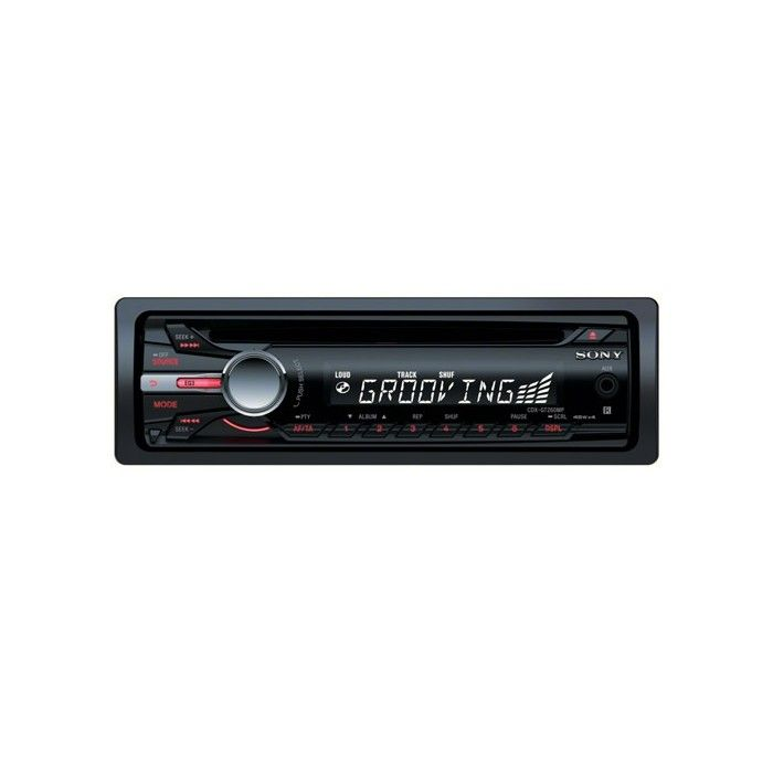 Sony CDX-GT260MP CD/MP3 car CD player with front AUX input - Car Audio Centre