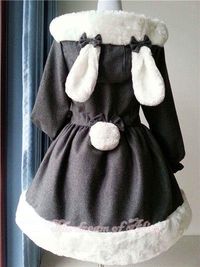 back of bunny coat: