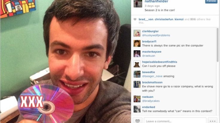 Nathan Fielder keeps sneaking pictures of a naked old man into his Instagram