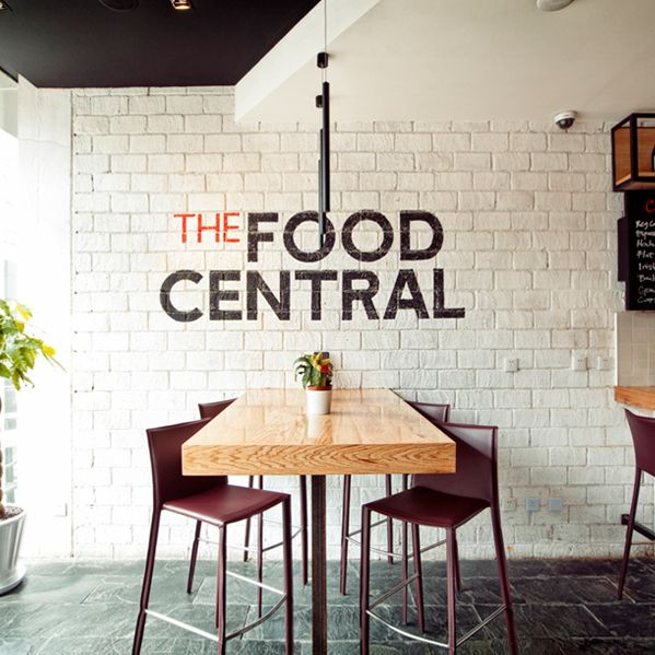 the food central retail shop contemporary bistro restaurant featuring various cooking stations shanghai by red design consultants