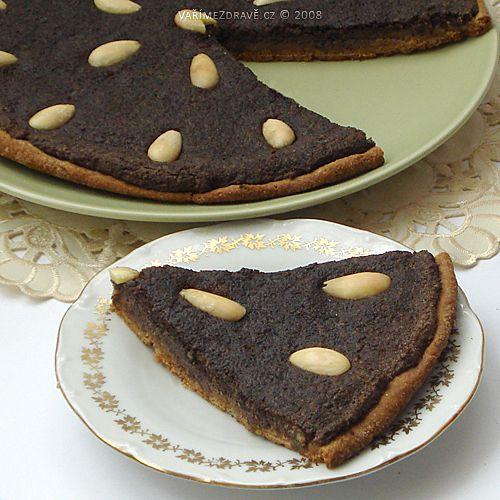 Makový koláč s mandlemi