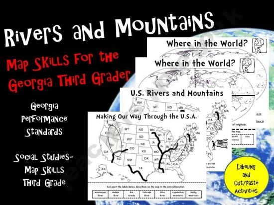 Best Georgia Focus ActivitiesLessons Images On Pinterest - Georgia map activity tier 2