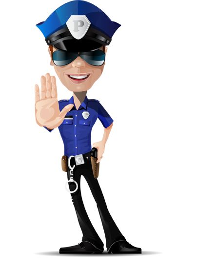 Image for Free Policeman Vector Character