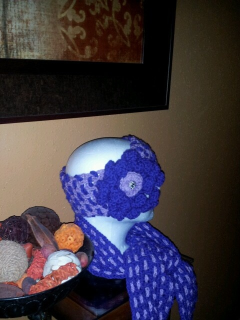 Headband and scarf | BluiThreads | Pinterest