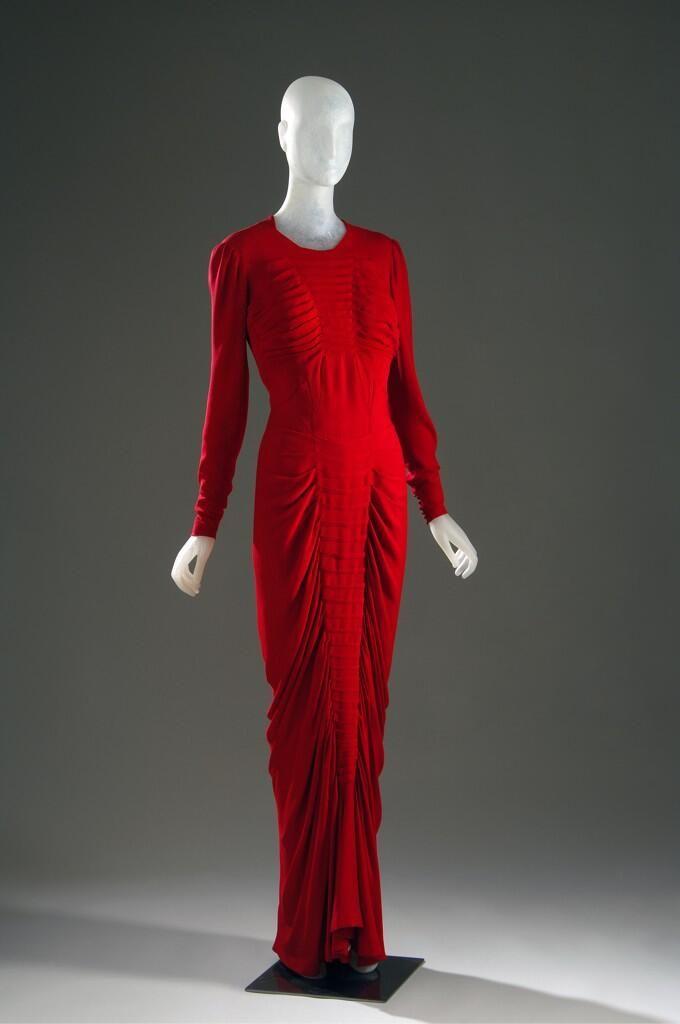 Charles James evening dress ...