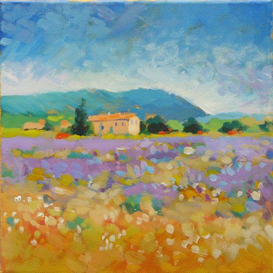How to paint like Monet: Acrylic Landscape Painting Lesson – Part 4 (Video)