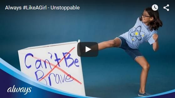Do We Limit Girls- Pink Prosper What an amazing video!  #likeagirl #unstoppable