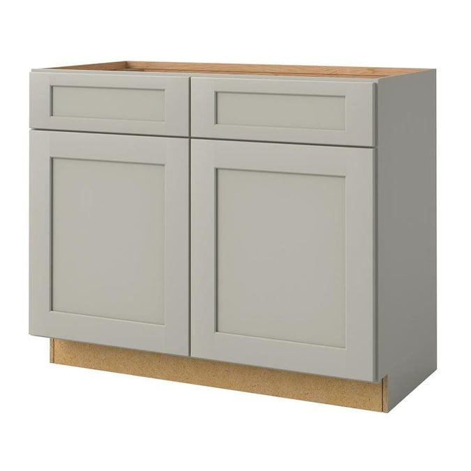 Allen Roth Stonewall 42 In Stone Bathroom Vanity Cabinet Lowes Com In 2020 Bathroom Vanities Without Tops Bathroom Vanity Cabinets Vanity Cabinet