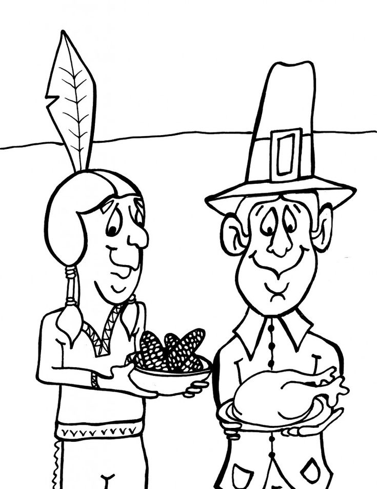 cool thanksgiving coloring pages - photo#11