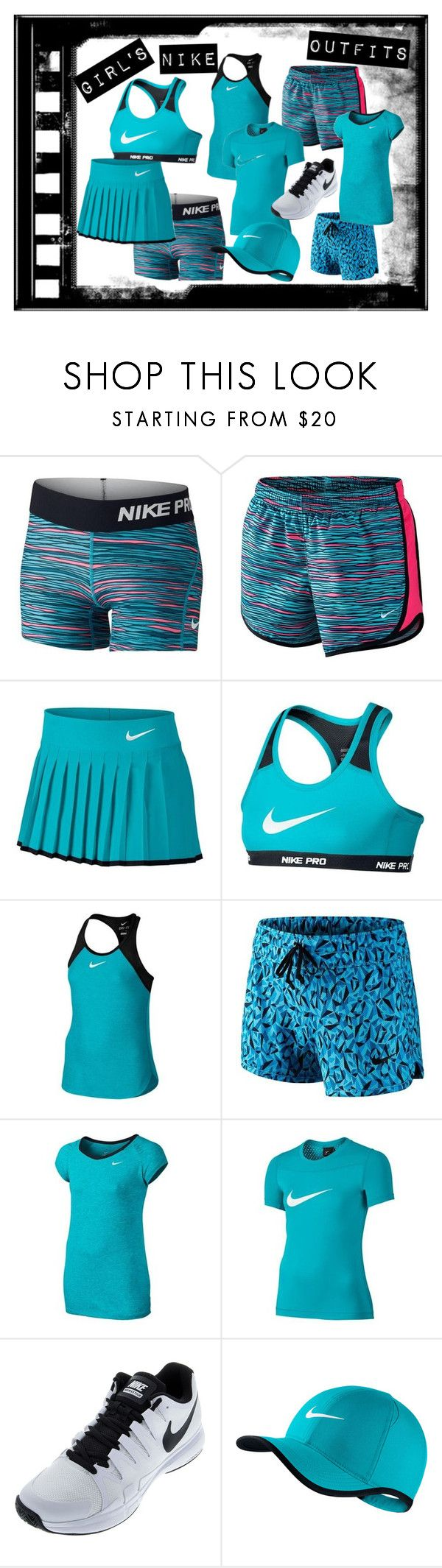 Girl's Nike Tennis Outfits by tennisexpress on Polyvore