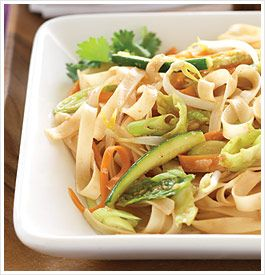 Looking for a tasty alternative to your usual chicken and broccoli? This Pad Thai recipe from The Eat-Clean Diet® Cookbook is just for you! Loaded with crisp vegetables and soft rice noodles, this exotic dish will have your whole family wanting more.