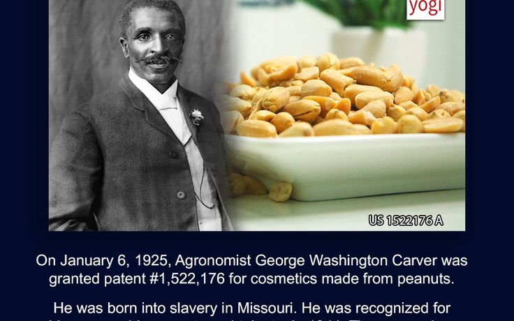 This Day in Patent History – On January 6, 1925, Agronomist George Washington Carver was granted patent