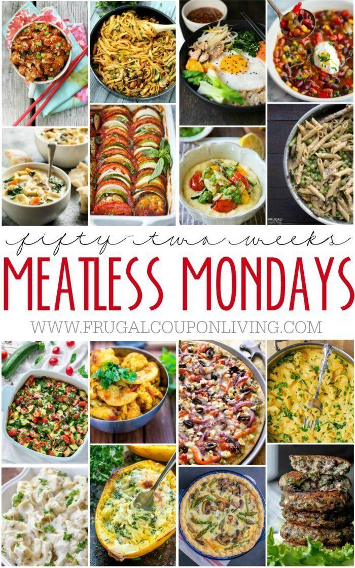 52 Weeks Of Meatless Monday Dinners Edible Adventures