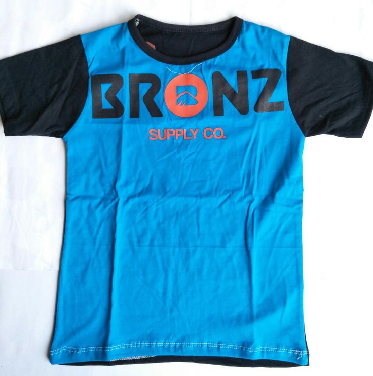 Kaos Anak Laki-laki Bronz Supply CO - https://credokid.com/produk/jual-grosir-baju-anak-branded-bandung/